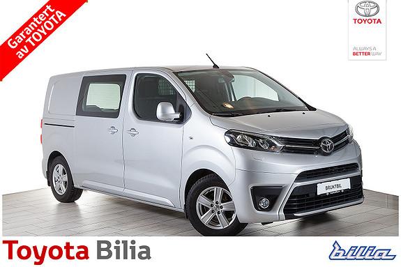 Toyota Proace Diesel 115hk medium lengde, 3 seter, hengerfeste, pen,  2016, 9766 km, kr 209000,-