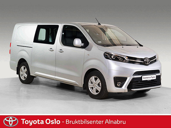 Toyota Proace 2,0 D 177 Comfort Plus L2H1 Hengerfeste, DAB+,  2017, 11101 km, kr 344900,-