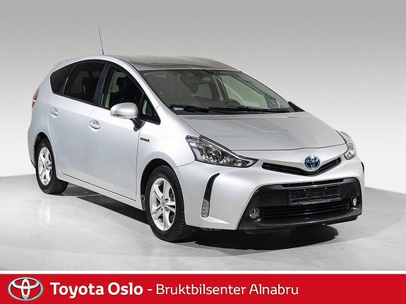 Toyota Prius+ Seven 1,8 VVT-i Hybrid Executive DAB+, Navi,  2015, 38549 km, kr 299900,-