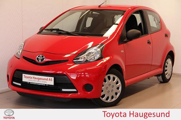 Toyota Aygo 1,0 5-d Ny service, tectylert, norsksolgt  2013, 38249 km, kr 89000,-