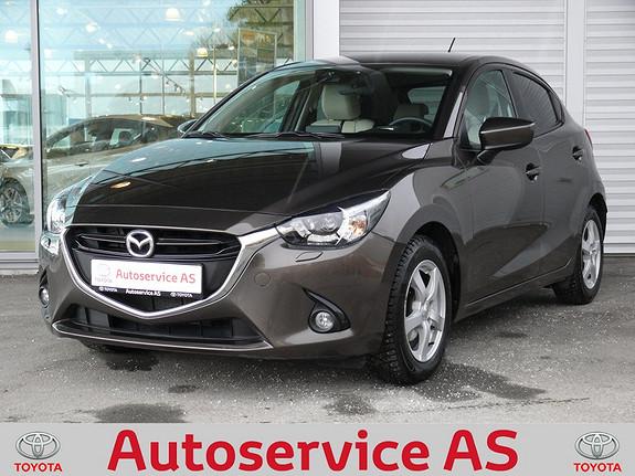 Mazda 2 1,5 90hk Optimum aut.  2015, 13000 km, kr 179000,-