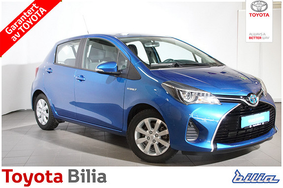 Toyota Yaris 1,5 Hybrid Active e-CVT  2015, 10598 km, kr 165000,-