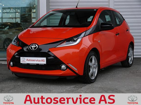 Toyota Aygo x-cite 1,0  2014, 33000 km, kr 119000,-