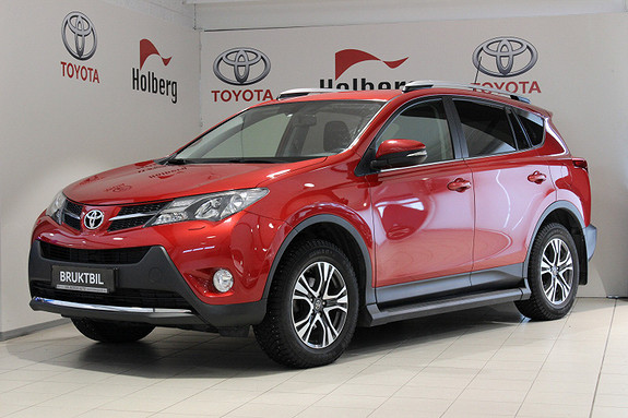 Toyota RAV4 2,0 D-4D 2WD Active Style Hengerfeste, Ryggekam, navi++  2014, 54800 km, kr 279000,-