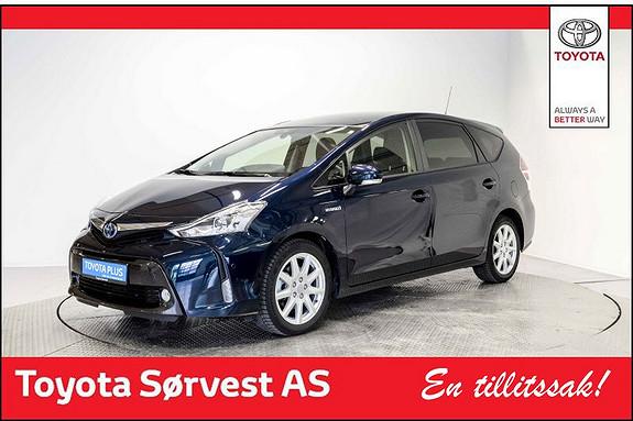 Toyota Prius+ Seven 1,8 VVT-i Hybrid Premium Lav km!  2016, 14000 km, kr 359000,-