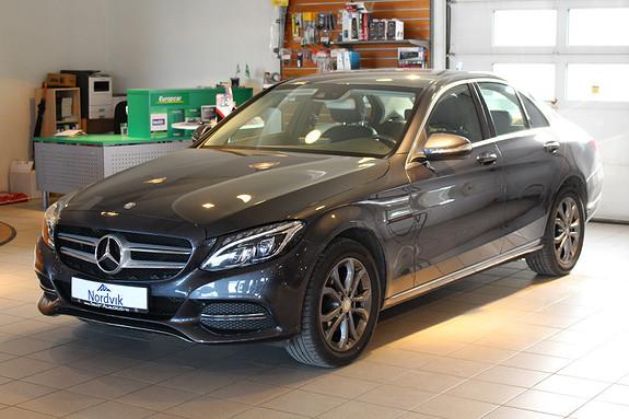 Mercedes-Benz C-Klasse C220 CDI BlueTEC aut LAV KM OG VELHOLDT BIL  2015, 43000 km, kr 379000,-