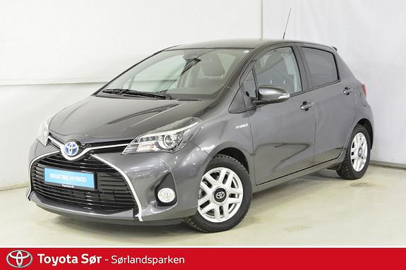 Toyota Yaris 1,5 Hybrid Style Sjekk km stand!  2016, 5500 km, kr 209000,-