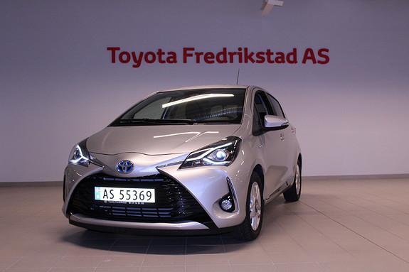 Toyota Yaris 1,5 Hybrid Active+ e-CVT aut  2017, 2000 km, kr 225000,-