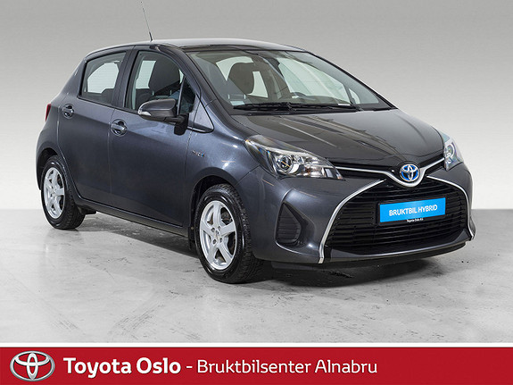 Toyota Yaris 1,5 Hybrid Active S e-CVT Safety Sense, DAB+,  2016, 47857 km, kr 168900,-