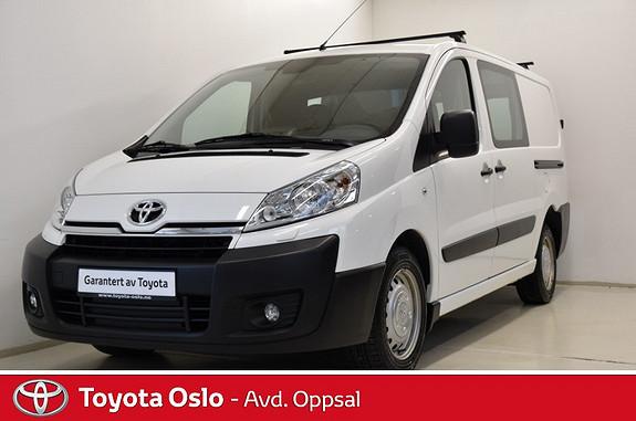 Toyota Proace 2,0 163hk L2H1 , min. 50.000,- i innbytte,  2014, 50019 km, kr 178000,-
