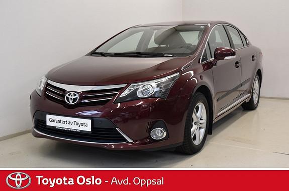 Toyota Avensis 1,6 132hk Advance InBusiness 2.0 innbyttekampanje!  2013, 43212 km, kr 179000,-