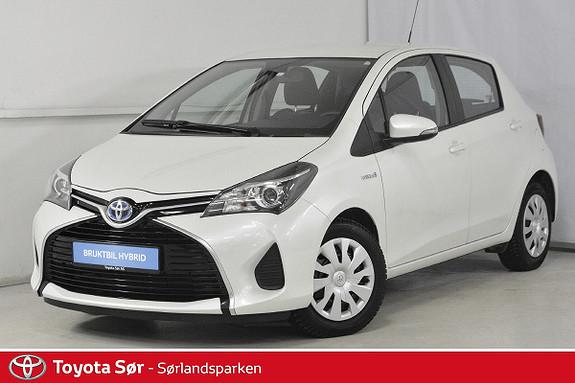 Toyota Yaris 1,5 Hybrid Active e-CVT Innbyttegaranti kr. 20.000,-  2014, 38000 km, kr 169000,-