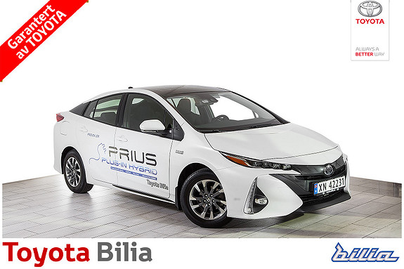 Toyota Prius Plug-in Hybrid Ladbar hybrid. 6,3 mil rekkevidde  ,meget pen,  2017, 6123 km, kr 315000,-