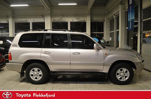 Toyota Land Cruiser 100 V8 aut LAV KM, SKJELDEN MULIGHET  2001, 176603 km, kr 259000,-