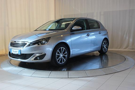Peugeot 308 1,6 e-HDI 115hk Allure  2013, 33000 km, kr 168000,-