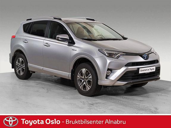 Toyota RAV4 Hybrid AWD Active Style Silver Edition  2017, 10619 km, kr 449900,-