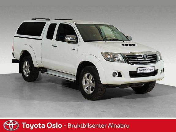Toyota HiLux D-4D 144hk Extra Cab 4WD SR  2015, 66896 km, kr 289900,-
