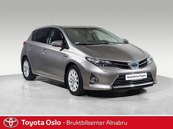 Toyota Auris 1,8 Hybrid E-CVT Executive Toppmodell!  2013, 55629 km, kr 188900,-