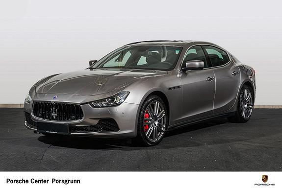 Maserati Ghibli S Q4 410hk