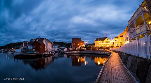 Kveldsstemning fra Brygga