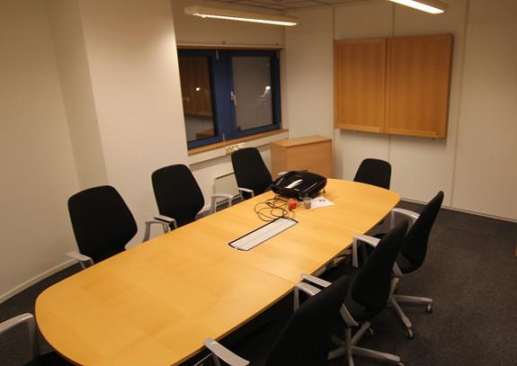 Flere møterom som også kan brukes som kontorer