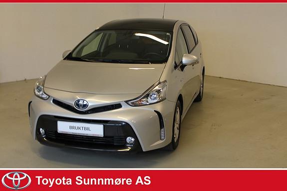 Toyota Prius+ Seven 1,8 VVT-i Hybrid Premium LAV KM*TOPPUTSTYRT**EL.SKINNSE  2015, 43000 km, kr 299000,-