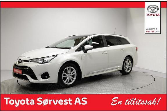 Toyota Avensis Touring Sports 1,8 Active Style M-drive 7S Glasstak  2016, 22800 km, kr 319000,-