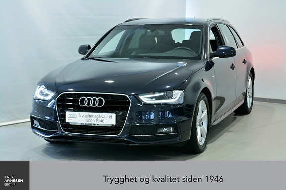 Audi A4 Avant 2,0 TDI 150hk multitronic  2015, 33200 km, kr 319000,-