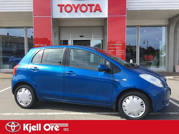 Toyota Yaris 1,4 D-4D Sol m/ klimaanlegg, isofix, vame i seter  2007, 117242 km, kr 59000,-