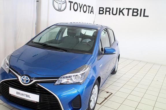 Toyota Yaris Hybrid Active, Navi, Cruisecontroll, Ryggekamera  2015, 48900 km, kr 184000,-
