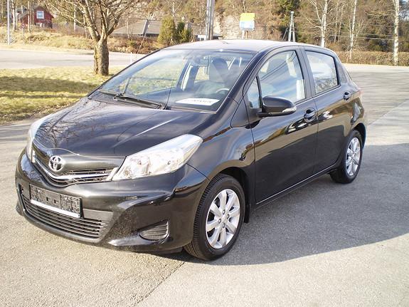 Toyota Yaris Aktiv +  2013, 45500 km, kr 119656,-