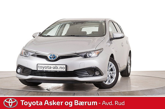 Toyota Auris 1,8 Hybrid E-CVT Active  2017, 49440 km, kr 245000,-