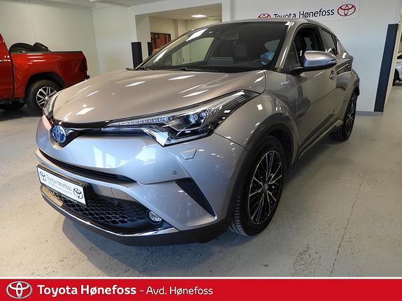 Toyota C-HR 1,8 WT-i Hybrid Supreme Tech , ryggekamera, delskinn, a  2017, 16000 km, kr 329000,-