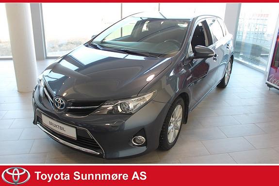 Toyota Auris 1,8 Hybrid E-CVT Active+ **VELHOLDT**DAB+**NYBILGARANTI  2014, 59000 km, kr 189000,-