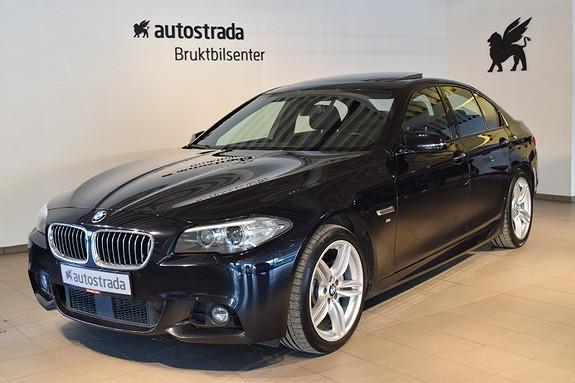BMW 5-serie 525da 218hk xDrive M Sport Godt utstyrt!
