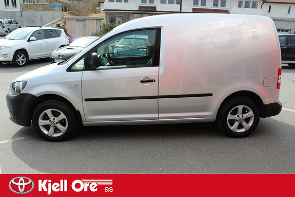 Volkswagen Caddy 1.6 102 TDI BMT Hengerfeste, Ryggesensor, kupèvarmer ++  2012, 33982 km, kr 119000,-