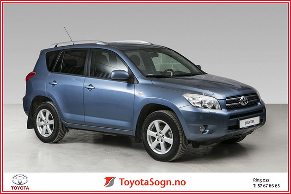 Toyota RAV4 2,2 D-4D 136hk DPF Cross Sport HENGERFESTE  2008, 92419 km, kr 149000,-