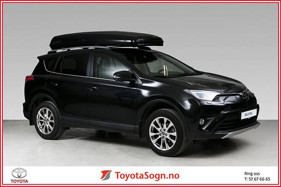 Toyota RAV4 2,0 4WD Executive TAKBOKS, HENGERFESTE  2016, 29800 km, kr 409000,-