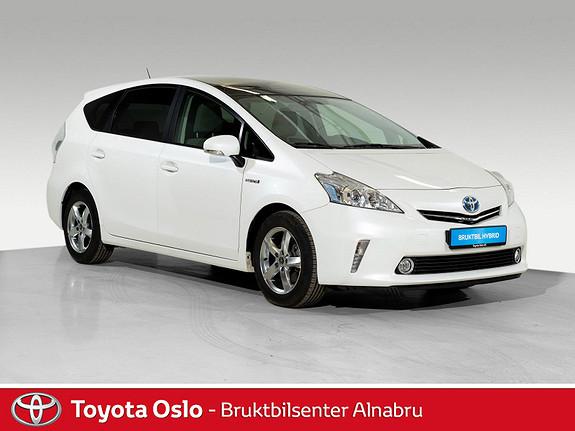 Toyota Prius+ Seven 1,8 VVT-i Hybrid Executive Skyview DAB+, Glasstak,  2012, 77661 km, kr 199900,-