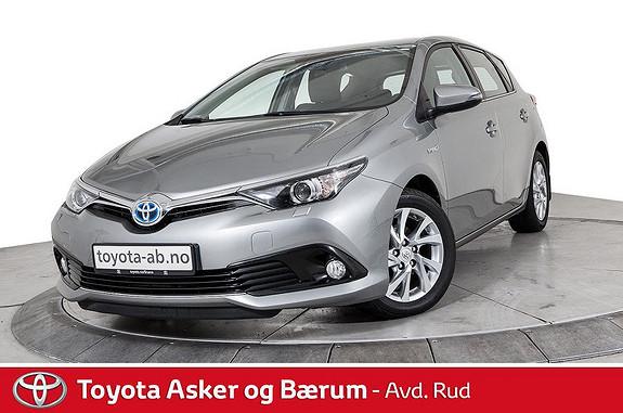 Toyota Auris 1,8 Hybrid E-CVT Active  2017, 37400 km, kr 255000,-