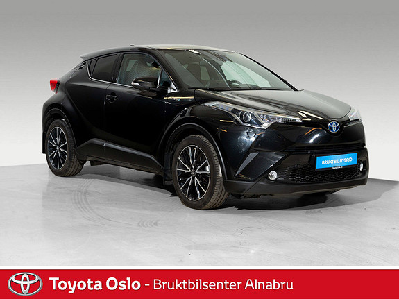 Toyota C-HR 1,8 WT-i Hybrid Supreme DAB+, Automat,  2017, 47661 km, kr 319900,-
