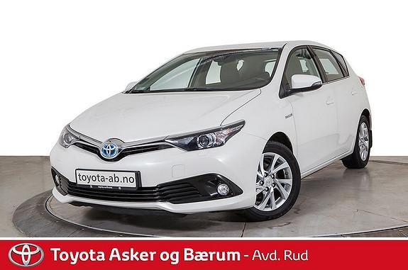 Toyota Auris 1,8 Hybrid E-CVT Active  2017, 43400 km, kr 249000,-