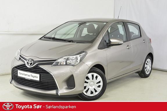Toyota Yaris 1,0 Active S  2015, 32000 km, kr 139000,-