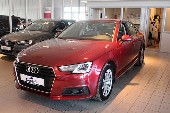Audi A4 2,0 TDI 190hk S tronic Drive Select, Hengerfeste DAB ++  2017, 24000 km, kr 429000,-