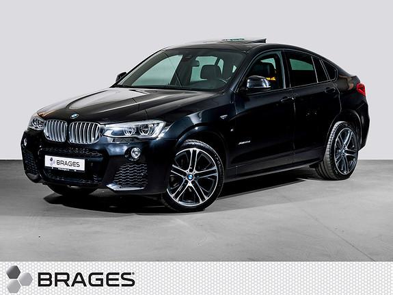 BMW X4 xDrive30d aut M-Sport, Led, Webasto, Navi, Head-Up++  2015, 91300 km, kr 565000,-