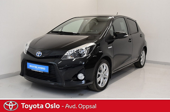 Toyota Yaris 1,5 Hybrid Style , Navigasjon,  2012, 40407 km, kr 144900,-