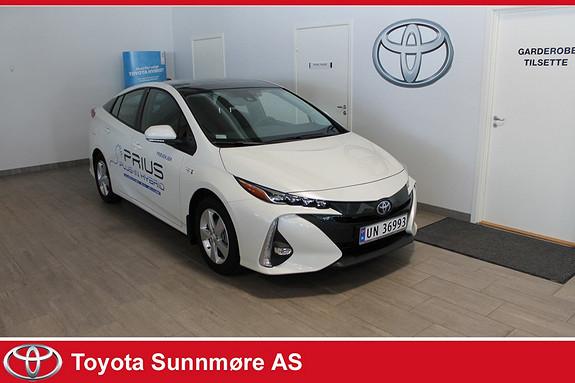 Toyota Prius Plug-in Hybrid 1,8 VVT-i Solar PHV **SVÆRT LAV KM**LADBAR HYBRID**TECT  2017, 4400 km, kr 299000,-