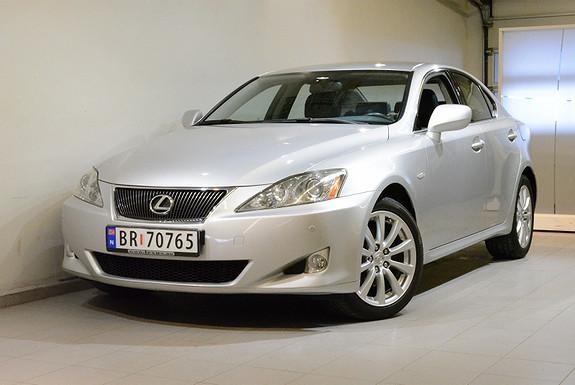Lexus IS 2,2 D-CAT 177HK Executive, ÈN EIER,  2008, 136600 km, kr 169000,-