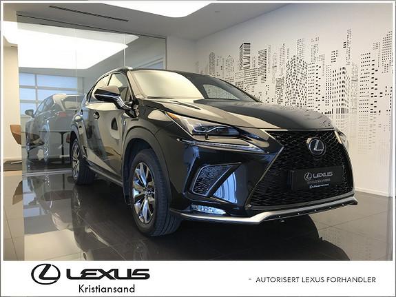 Lexus NX 300h F Sport S Ny modell. Topputstyrt!  2018, 7500 km, kr 649000,-