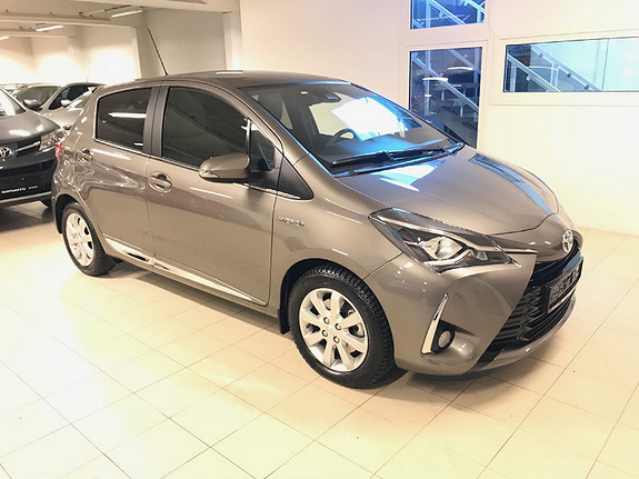 Toyota Yaris 1,5 Hybrid Style  2017, 2300 km, kr 219000,-